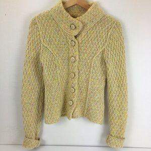 Anthropologie Sleeping On Snow Cardigan Sweater
